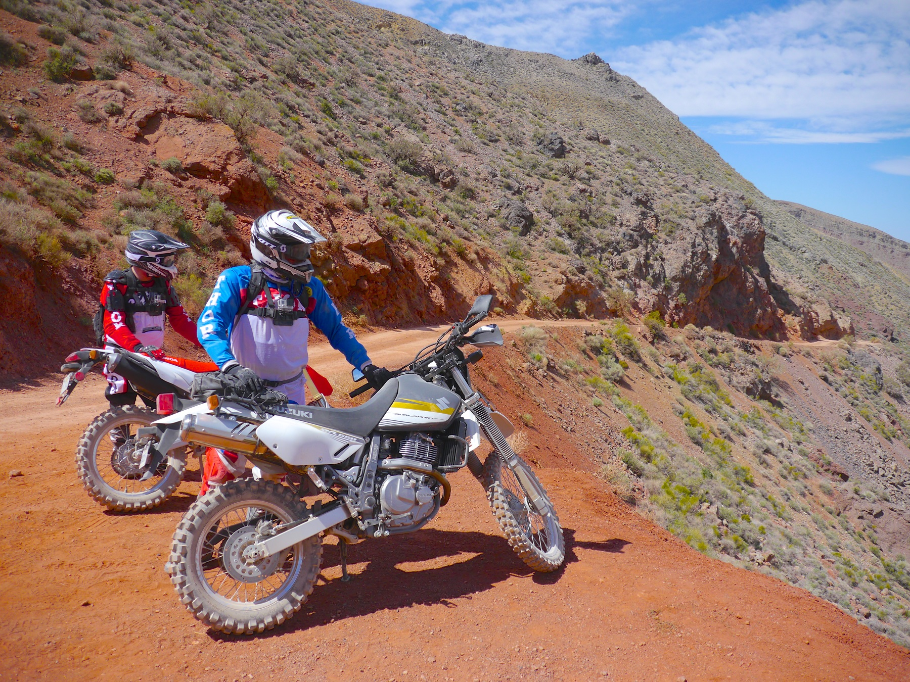 Suzuki DR650 Dual Sport On And Off Road Cycling