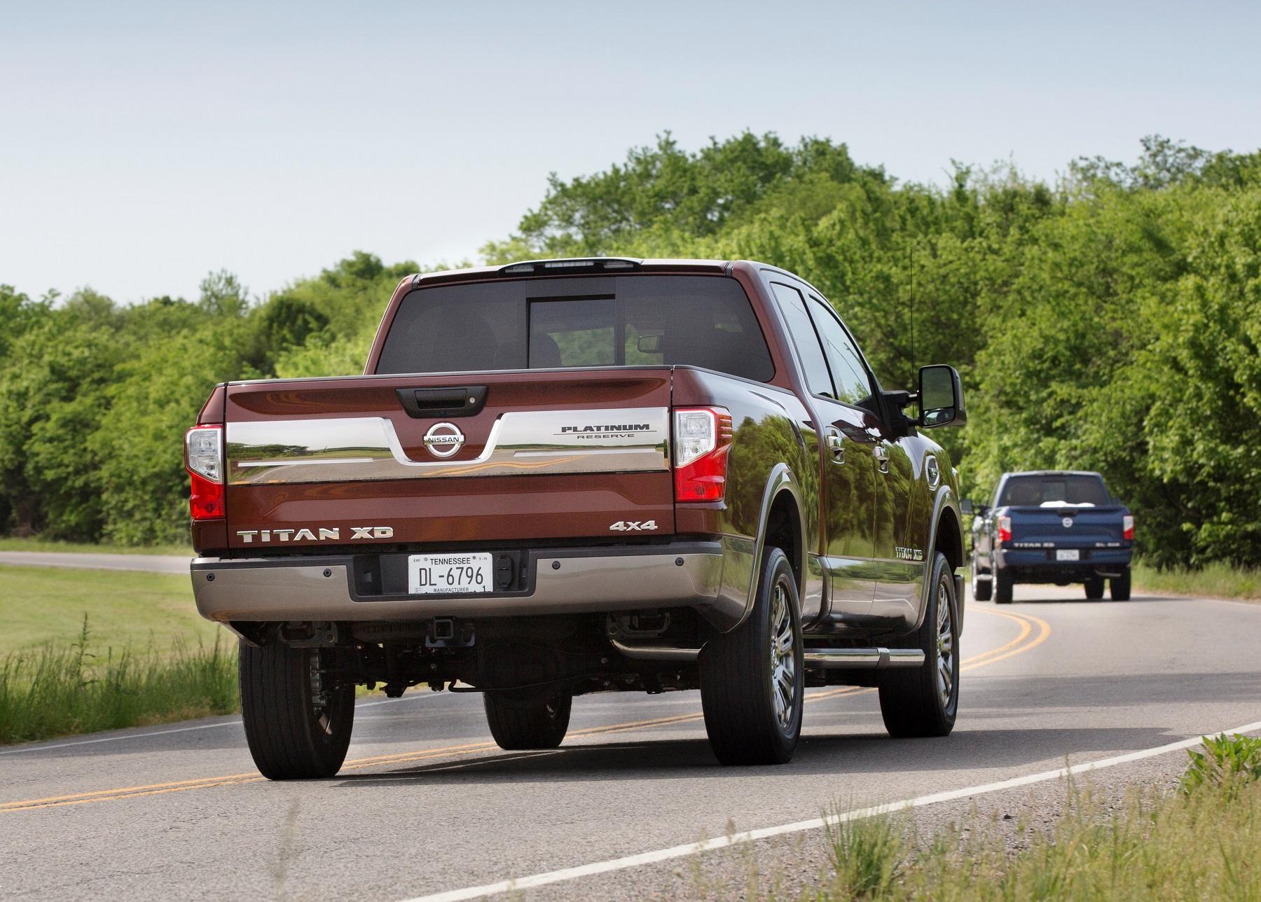 Nissan Titan XD Platinum Reserve V 8 Decked in Luxury CarHub